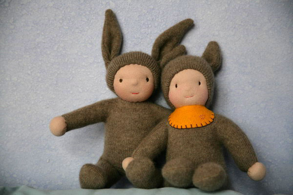 brother bunny dolls